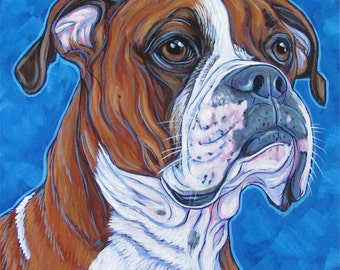 """10"""" x 10"""" Custom Pet Portrait Acrylic Painting on Canvas of One Dog, Cat, Horse, Goat, Other Pet Lover OOAK Art Custom Dog Memorial or Gift"""