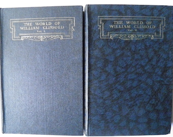 The World of William Clissold by HG Wells 2 Volumes 1933