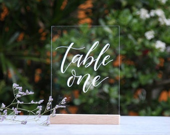 Party supplies etsy au acrylic wedding table numbers bridal table wedding table decoration event decor table junglespirit Images