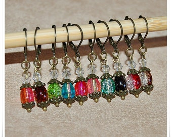 Mesh markers for crochet and knitting removable stitch markers removable marker crochet marker