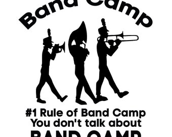 American Pie Inspired Band Camp SVG