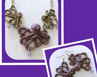 Purple Octopus Set