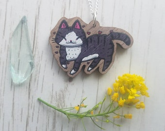 Happy Cat Necklace