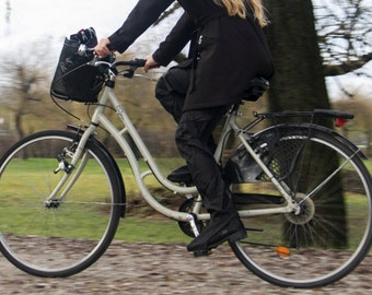 StopDrop Rain Cycling Pants - Black