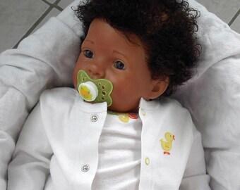 Sweet AA Biracial Ethnic BIG Reborn Baby Girl/Boy Doll - CUSTOM
