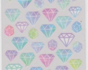 Diamond Stickers - Masking Tape Sticker - Mind Wave - Reference H3313-14U5766