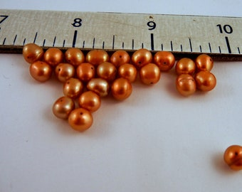 Freshwater Pearls Bronze 16 inches