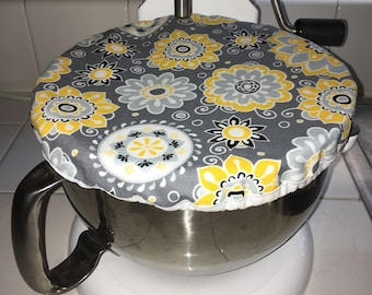 Eco-Friendly // Reusable // Bowl Cover // Stand Mixer // Sunflower