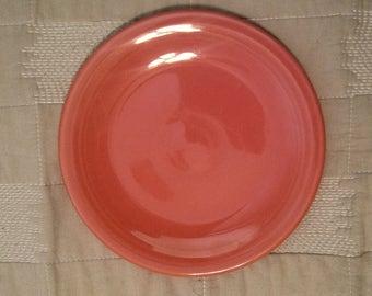 Fiestaware Small Plate Flamingo & Pink fiestaware | Etsy
