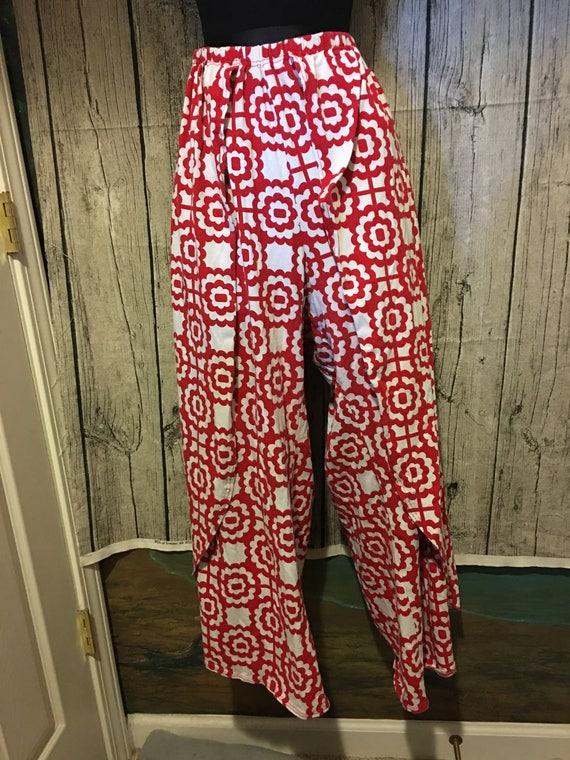 Wrap Pants - Easy with Elastic Waist (Custom Made)