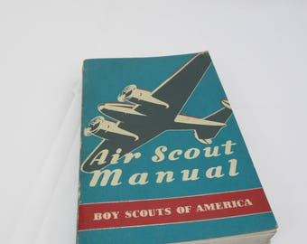 1942 Air Scout Manual Boy Scouts of America, Proof Edition