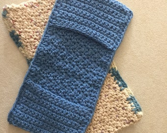Cotton reusable swiffer covers