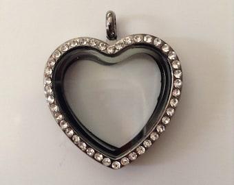 Floating Heart Lockets