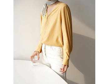 Ume Scarf - striped silk scarf