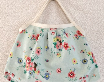SALE! Reversible Shopper Bag - Yuwa fabric cotton / linen