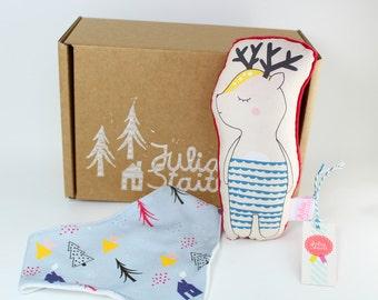 Forest Friends Bib Gift Box