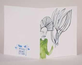 These are for You-Blank Greeting Card
