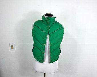 80's vintage woolrich down vest