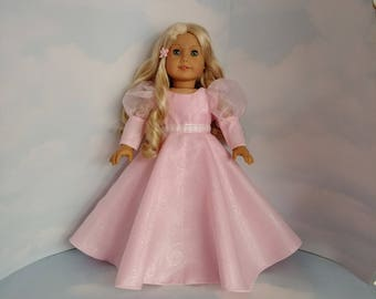 GLINDA Gown 18 inch doll clothes