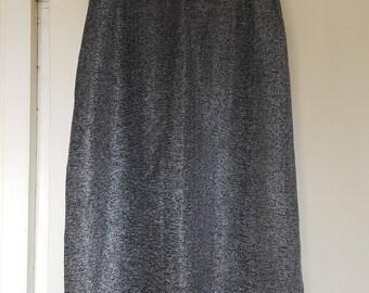 70s lurex disco skirt