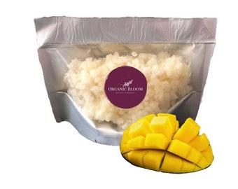 Unrefined Mango Butter, Anti aging, Vitamin C, Eczema lotion, Sensitive Skin, Raw Butter, Skincare