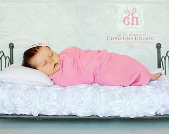 Pink Gauze Wrap Newborn Baby Photography Prop