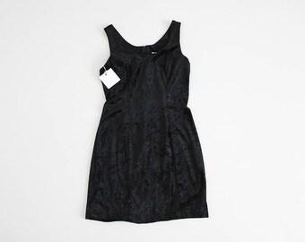 black crushed velvet dress | velvet mini dress | black velvet dress