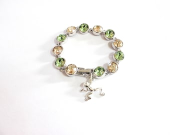 Tiana's Crystal Bracelet (made with Swarovski Crystals)
