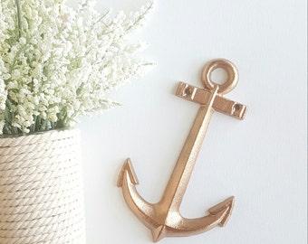 Anchor Wall Decor, Bronze Anchor, Nautical Decor