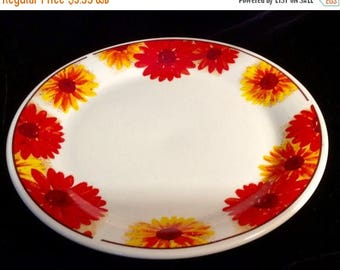 ON SALE American Atelier SUNFLOWER #5608 Stoneware Dinner Plate Dinnerware Excellent Condition