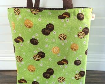 Shopping Bag, Large Tote Bag, Reusable Bag, Girl Scout Bag