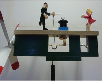 The Magic Show Whirligig (You pick the Colors!)