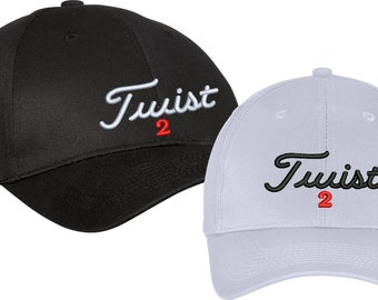 Twist  phish Band Golf Hat Cap  - Adjustable Titleist