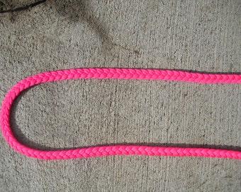 Neon pink barrel reins