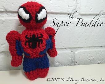 Spider-Man Superhero Inspired Nerd Crochet