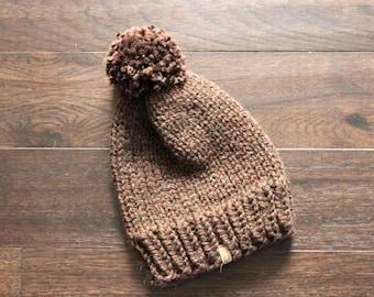 Chunky Beanie, Adult Chunky Hat, THE FALLON, Chunky Knit Hat, Cozy Hat, Slouch Hat, Adult Beanie, Adult Hat, Chunky Knits, Chunky Knit Hat