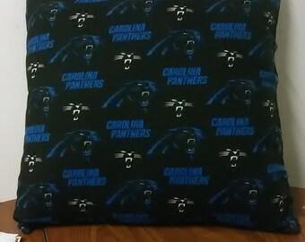 Carolina Panthers Throw Pillow