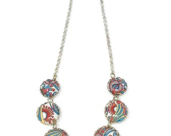 Necklace, colorful jewelry