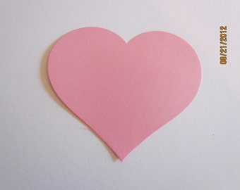 large heart die cuts