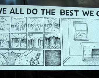 We All Do the Best We Can Comic Strip by David Lasky