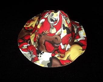 Reversible Pony Sunhat newborn-adult//horse sunhats//horse chemo hat//reversible hats//toddler sunhats//infant sunhat//baby shower gift