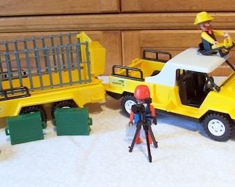 Playmobil Safari Truck and Trailer, Geobra #9768