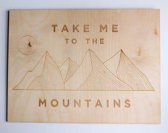 Mountains Wall Art
