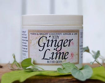 Ginger Lime Butter Cream