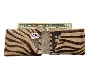 Zulu Leather Slit Wallet Coin Money Purse For Men & Women - Accessories Collection