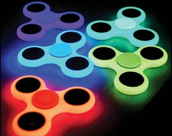 Fidget Spinner Glow In The Dark Fidget Hand Spinners
