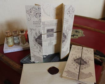 Harry Potter Marauders Map Wedding Invitations!