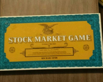 Vintage Stock Market Board Game