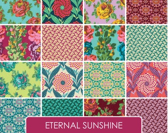 Amy Butler Eternal Sunshine   Free Spirit   Quilt Fabric   Precut   Fabric Bundle   Layer Cake   Jelly Roll  