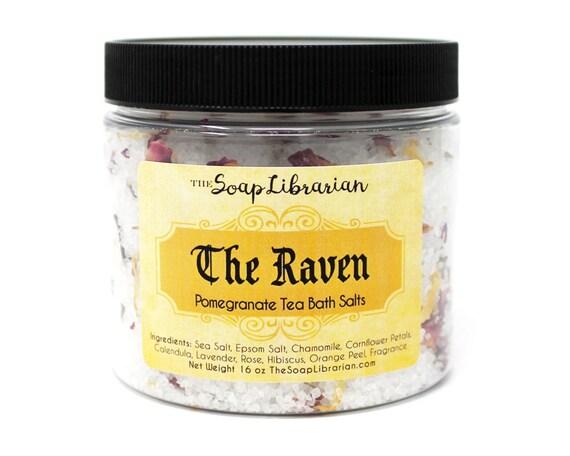 The Raven Bath Salts - Pomegranate Tea